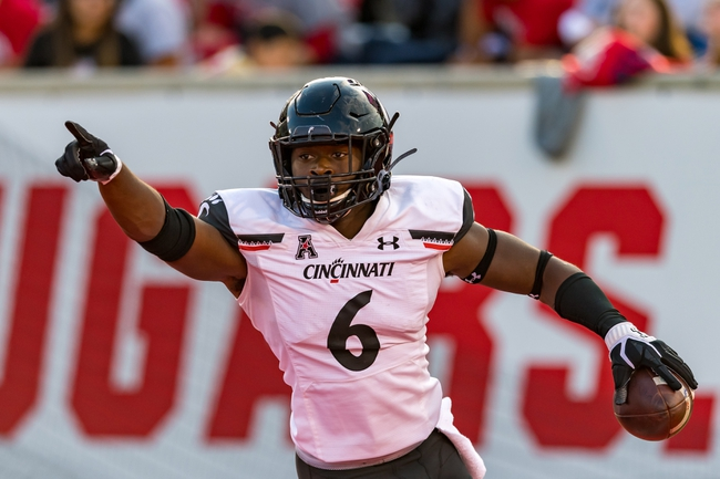 Cincinnati vs. Tulsa - 10/19/19 College Football Pick, Odds, and Prediction