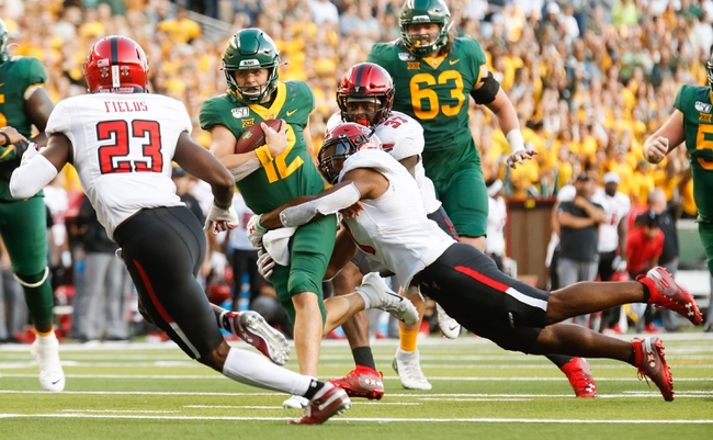 Baylor at Texas Tech - 10/15/20 Early look College Football GOY Picks and Predictions
