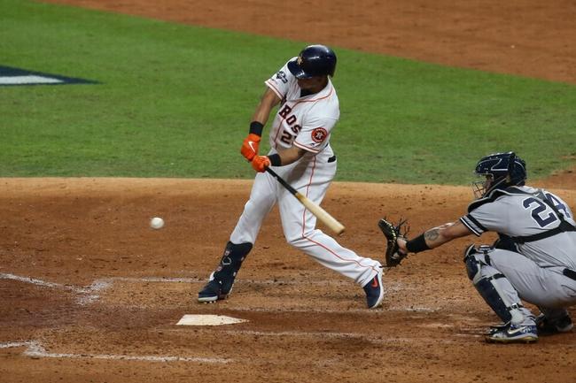 Houston Astros vs. New York Yankees ALCS Game 2 - 10/13/19 MLB Pick, Odds, and Prediction