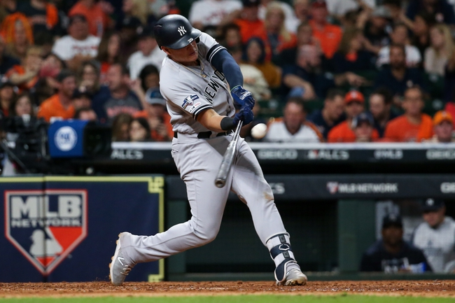 Houston Astros vs. New York Yankees - 10/13/19 MLB Pick, Odds, and Prediction