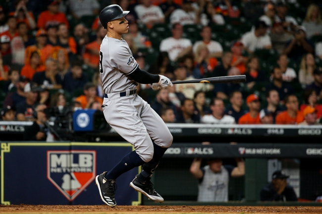 Houston Astros vs. New York Yankees - 10/13/19 MLB - Playoffs Pick, Odds, and Prediction