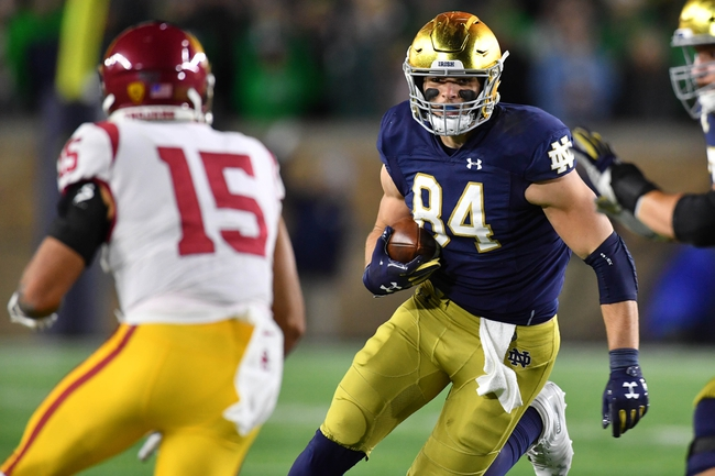 Cole Kmet 2020 NFL Draft Profile, Pros, Cons, and Projected Teams