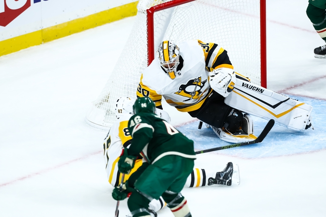 Pittsburgh Penguins vs. Minnesota Wild - 1/14/20 NHL Pick, Odds, and Prediction