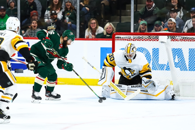 Pittsburgh Penguins vs. Minnesota Wild - 1/14/20 NHL Pick, Odds & Prediction