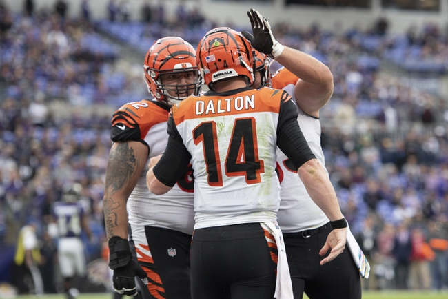 Jacksonville Jaguars at Cincinnati Bengals - 10/20/19 NFL Pick, Odds, and Prediction