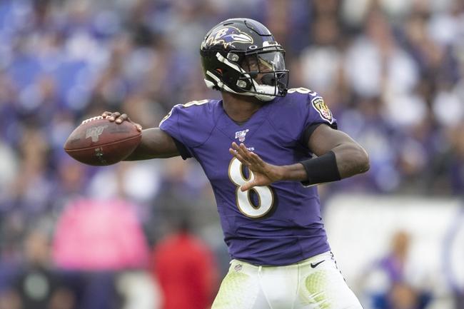 Baltimore Ravens at Cincinnati Bengals - 11/10/19 NFL Pick, Odds, and Prediction