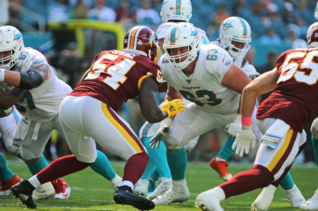 Washington Redskins vs. Miami Dolphins - 6/12/20 Madden 20 Sim NFL Pick, Odds, and Prediction