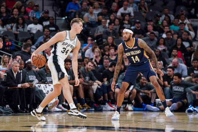 New Orleans Pelicans vs. San Antonio Spurs - 1/22/20 NBA Pick, Odds & Prediction