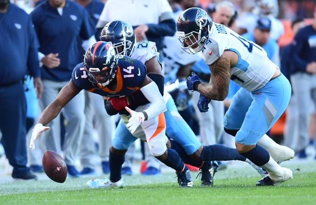 Denver Broncos vs. Tennessee Titans - 9/14/20 NFL Pick, Odds, and Prediction