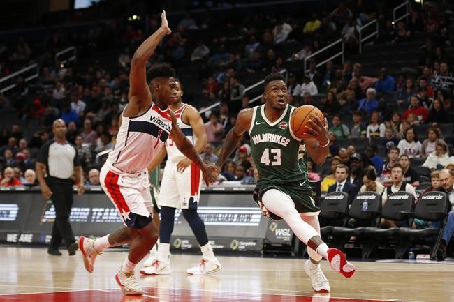 Milwaukee Bucks vs. Washington Wizards - 1/28/20 NBA Pick, Odds & Prediction