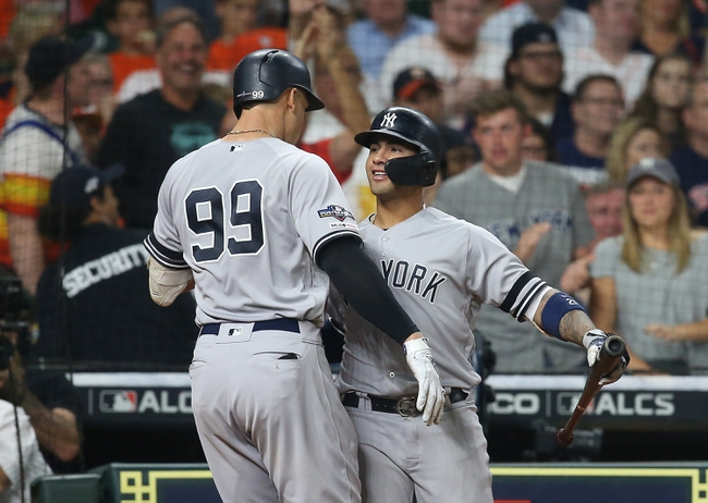 New York Yankees vs. Houston Astros - 10/15/19 MLB - Playoffs Pick, Odds, and Prediction