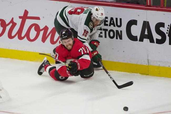 Minnesota Wild vs. Ottawa Senators - 11/29/19 NHL Pick, Odds, and Prediction