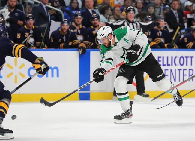 Dallas Stars vs. Buffalo Sabres - 1/16/20 NHL Pick, Odds, and Prediction