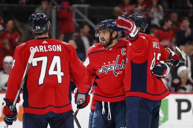 Washington Capitals vs. Toronto Maple Leafs - 10/16/19 NHL Pick, Odds, and Prediction