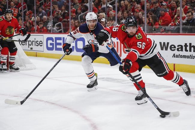 Edmonton Oilers vs. Chicago Blackhawks - 2/11/20 NHL Pick, Odds & Prediction