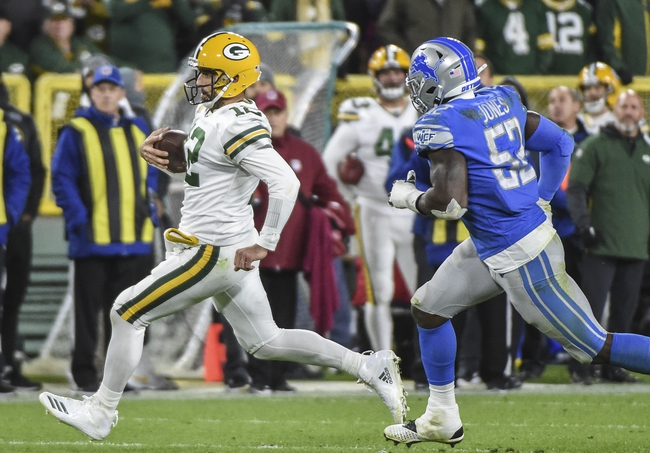 Green Bay Packers at Detroit Lions - 12/29/19 NFL Pick, Odds, and Prediction