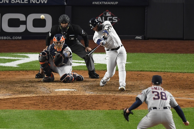 Houston Astros at New York Yankees - 10/17/19 MLB Pick, Odds, and Prediction