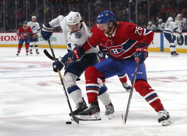 Tampa Bay Lightning vs. Montreal Canadiens - 12/28/19 NHL Pick, Odds & Prediction