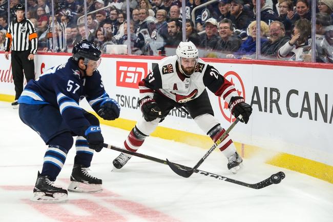 Winnipeg Jets vs. Arizona Coyotes - 3/9/20 NHL Pick, Odds, and Prediction