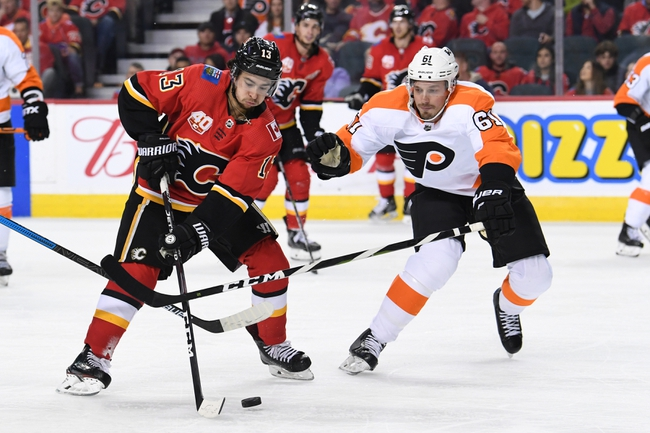 Philadelphia Flyers vs. Calgary Flames - 11/23/19 NHL Pick, Odds, and Prediction
