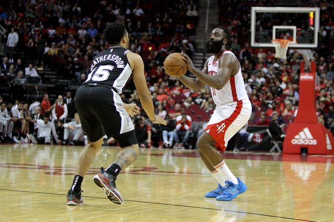 San Antonio Spurs vs. Houston Rockets - 12/3/19 NBA Pick, Odds, and Prediction