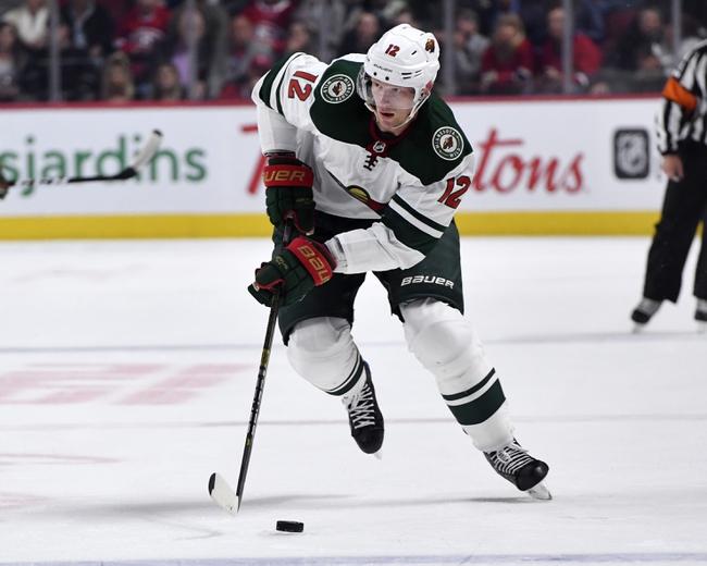 Minnesota Wild vs. Edmonton Oilers - 10/22/19 NHL Pick, Odds, and Prediction