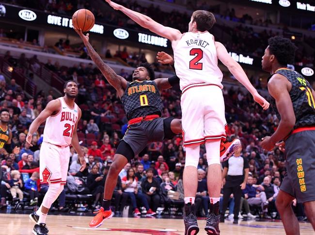 Atlanta Hawks vs. Chicago Bulls - 11/6/19 NBA Pick, Odds, and Prediction