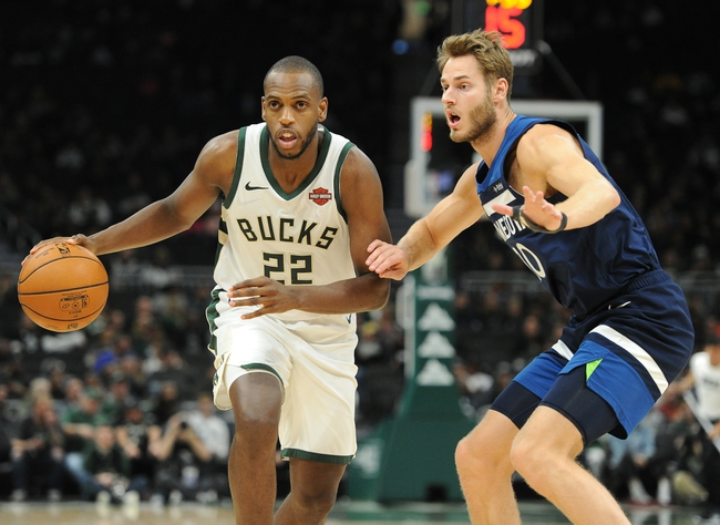 Minnesota Timberwolves vs. Milwaukee Bucks - 11/4/19 NBA Pick, Odds, and Prediction