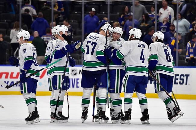 Vancouver Canucks vs. St. Louis Blues - 11/5/19 NHL Pick, Odds, and Prediction