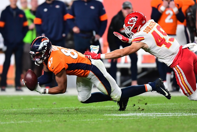 Kansas City Chiefs vs. Denver Broncos - 12/15/19 NFL Pick, Odds, and Prediction