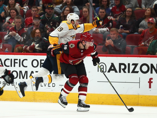 Arizona Coyotes vs. Ottawa Senators - 10/19/19 NHL Pick, Odds, and Prediction