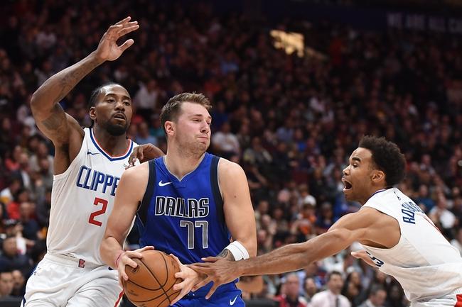Dallas Mavericks vs. L.A. Clippers - 11/26/19 NBA Pick, Odds, and Prediction