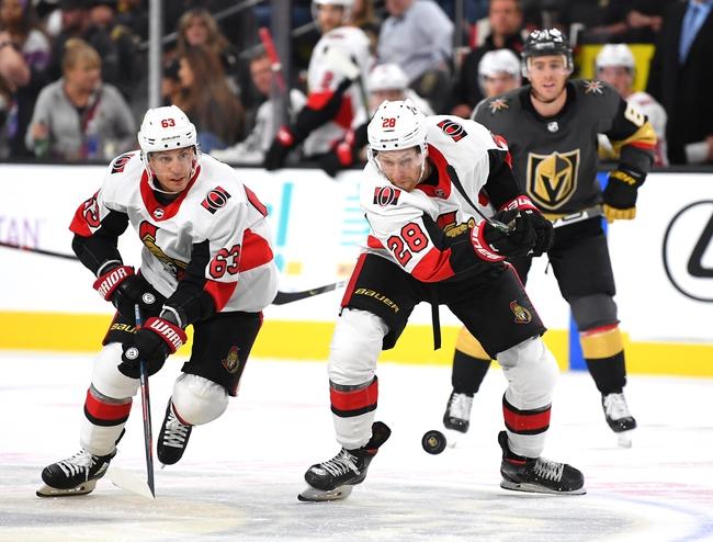 Ottawa Senators vs. Vegas Golden Knights - 1/16/20 NHL Pick, Odds & Prediction