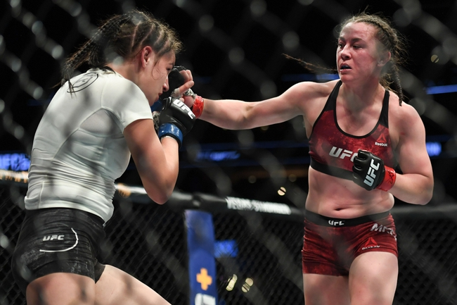 Taila Santos vs. Molly McCann - 7/15/20 UFC on ESPN 13 Pick, Odds, and Prediction