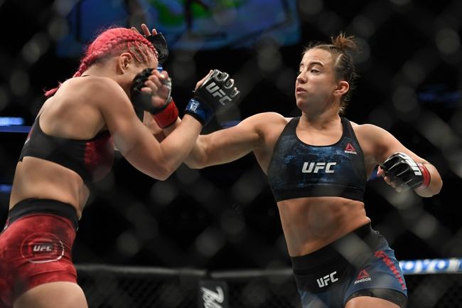 Gillian Robertson vs. Cortney Casey - 6/20/20 UFC Fight Night 173 Pick, Odds, and Prediction