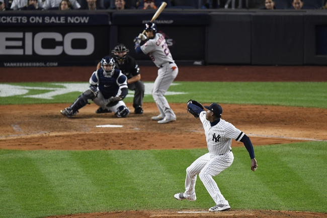 New York Yankees at Houston Astros - 10/19/19 MLB Pick, Odds, and Prediction