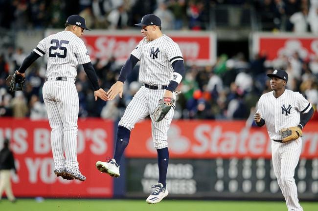 Houston Astros vs. New York Yankees - 10/19/19 MLB Pick, Odds, and Prediction