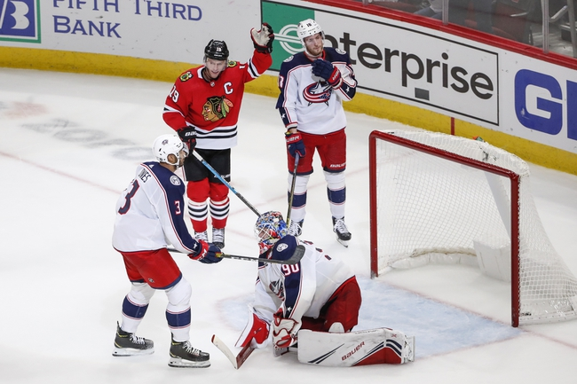 Columbus Blue Jackets vs. Chicago Blackhawks - 12/29/19 NHL Pick, Odds & Prediction