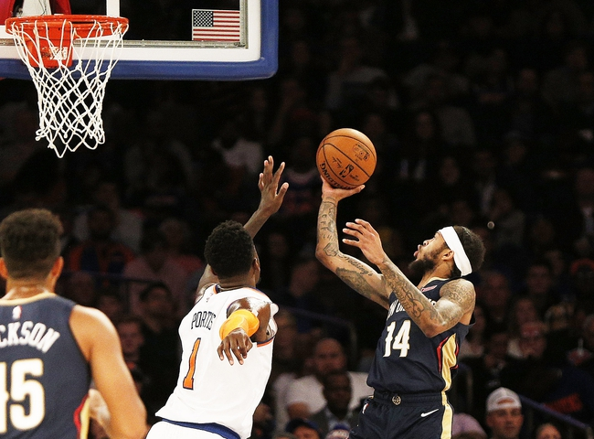 New York Knicks vs. New Orleans Pelicans - 1/10/20 NBA Pick, Odds & Prediction