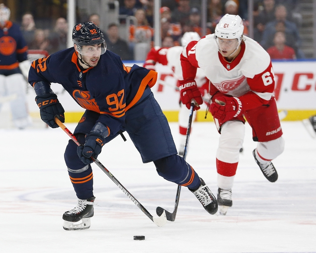 Detroit Red Wings vs. Edmonton Oilers - 10/29/19 NHL Pick, Odds, and Prediction