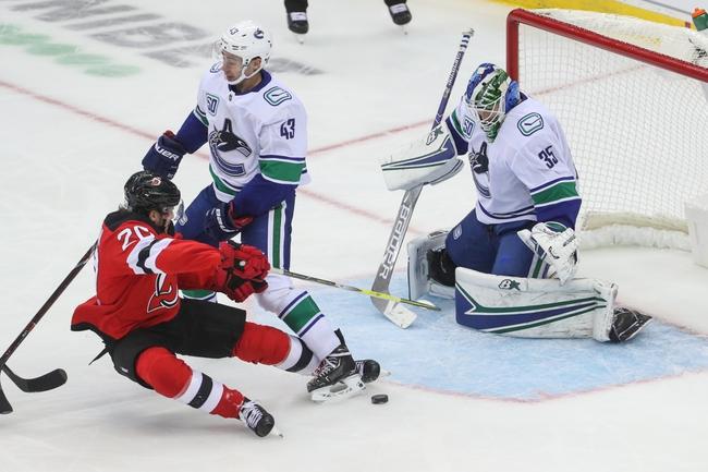 Vancouver Canucks vs. New Jersey Devils - 11/10/19 NHL Pick, Odds, and Prediction