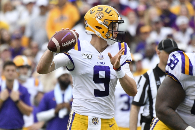 LSU vs. Auburn - 10/26/19 College Football Pick, Odds, and Prediction