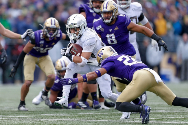 Washington vs. Oregon - 10/3/20 Early Look College Football GOY Pick, Odds, and Prediction