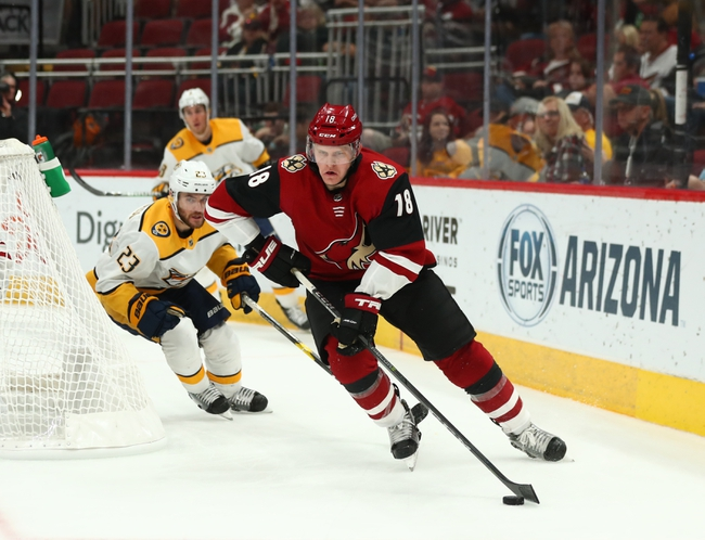 Nashville Predators vs. Arizona Coyotes - 12/23/19 NHL Pick, Odds, and Prediction