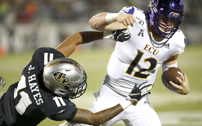 UCF at East Carolina - 9/26/20 College Football Picks and Prediction