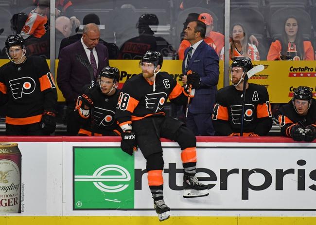 Philadelphia Flyers vs. Vegas Golden Knights - 10/21/19 NHL Pick, Odds, and Prediction