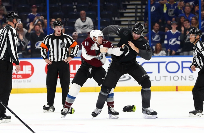 Colorado Avalanche vs. Tampa Bay Lightning - 2/17/20 NHL Pick, Odds & Prediction