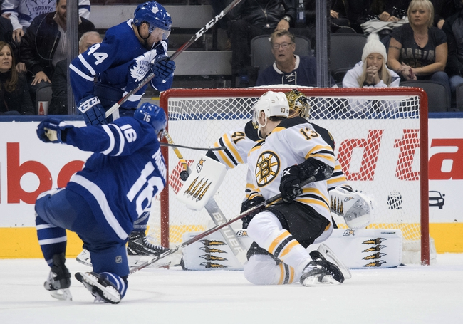 Boston Bruins vs. Toronto Maple Leafs - 10/22/19 NHL Pick, Odds, and Prediction
