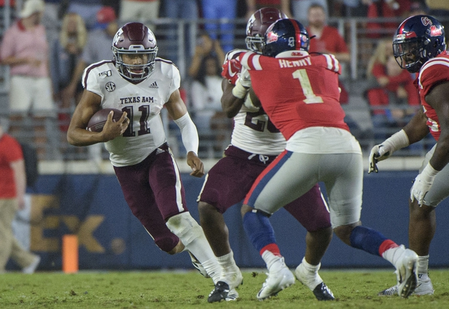Postponed: Texas A&M vs Ole Miss College Football Picks, Odds, Predictions 11/21/20