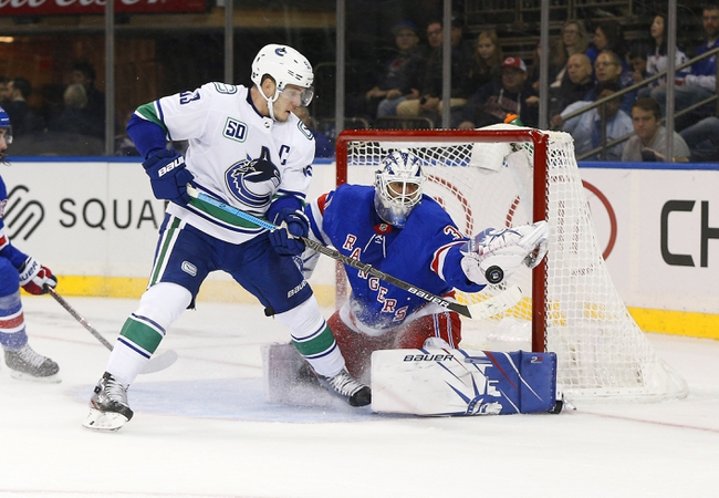 Vancouver Canucks vs. New York Rangers - 1/4/20 NHL Pick, Odds, and Prediction